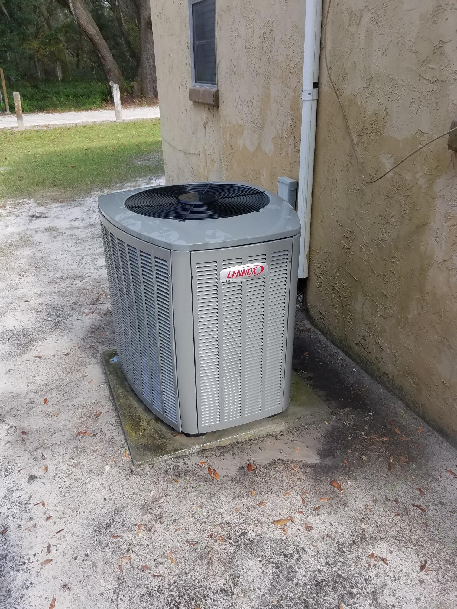 Crescent City, FL - Maintenance on Lennox