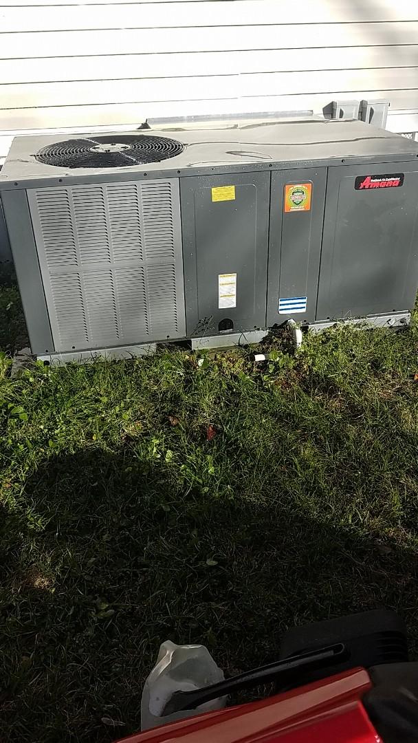 Palatka, FL - Tune up amana heat pump package unit