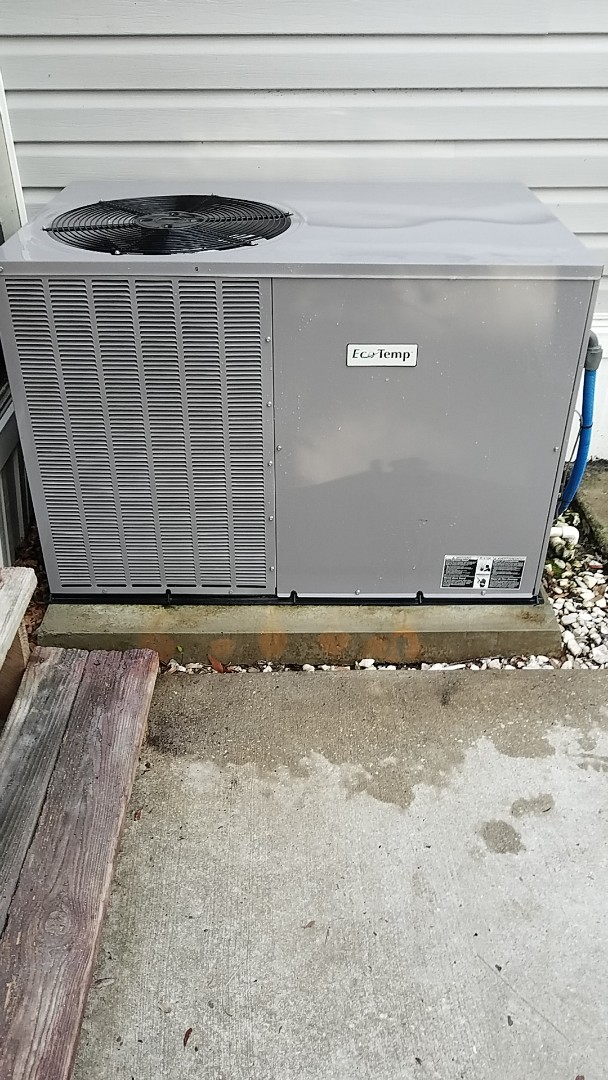 Melrose, FL - Tune up eco temp package heat pump