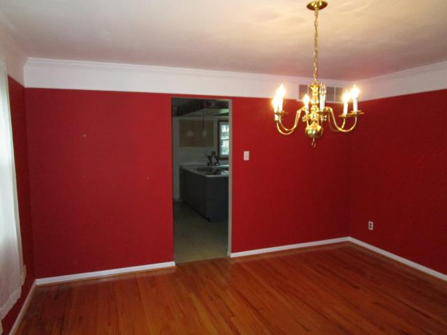 "Cherry Hill, NJ - At our Cherry Hill kitchen project, take a moment to enjoy the emptied dining room, and get ready to ""say goodbye"" to the dividing wall between the DR and the kitchen.  You're going to love this remodel when it's all finished!"