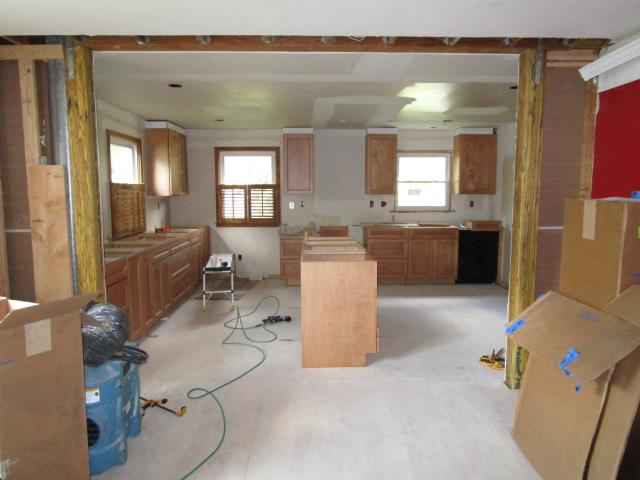 Cherry Hill, NJ - At our Cherry Hill kitchen project, most of the heavy lifting and site prep work has been completed, and thanks to our team's great efforts, we can now start to see the layout coming together....it's going to be fantastic!