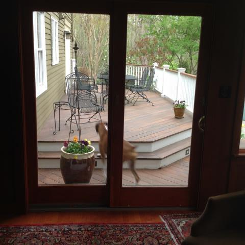 Medford Lakes, NJ - New back sliding doors