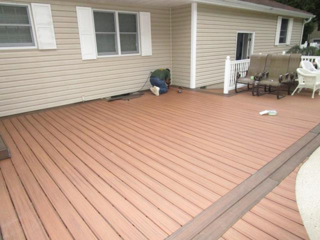 Medford Lakes, NJ - Upgraded existing deck