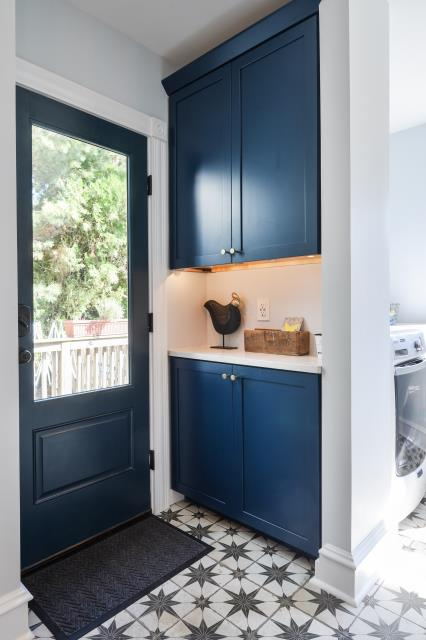 Collingswood, NJ - Marvelous mudroom completed in Collingswood