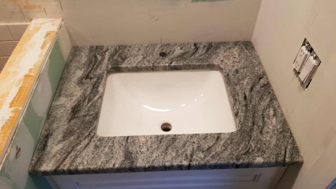 Collingswood, NJ - New undermount sink and vanity installed