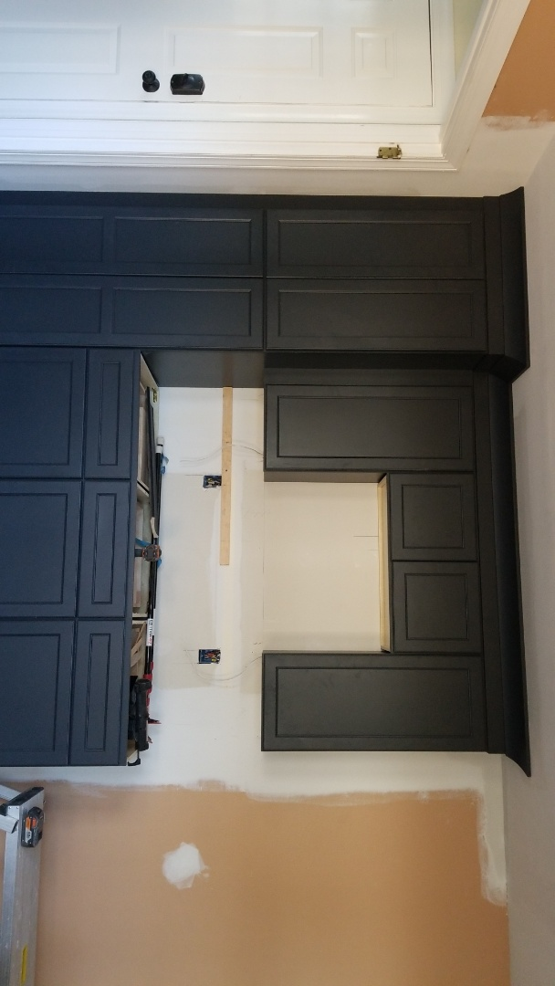 Mount Laurel Township, NJ - Black cabinets are beautiful
