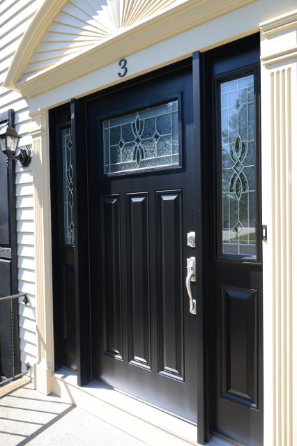Shamong, NJ - Door replacement and painting