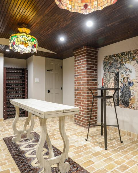 Southampton Township, NJ - Not your typical basement remodel.  How about a wine cellar!