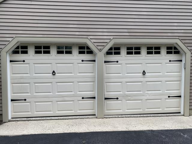 Southampton Township, NJ - Removed and replaced all trim and fascia around garage doors