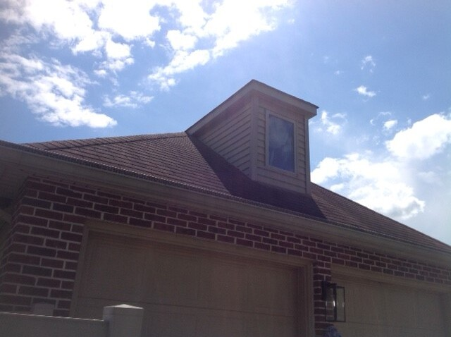 Evesham Township, NJ - Roof replacement with Timberline Pewter Gray shingles. All new gutters with gutter guards.