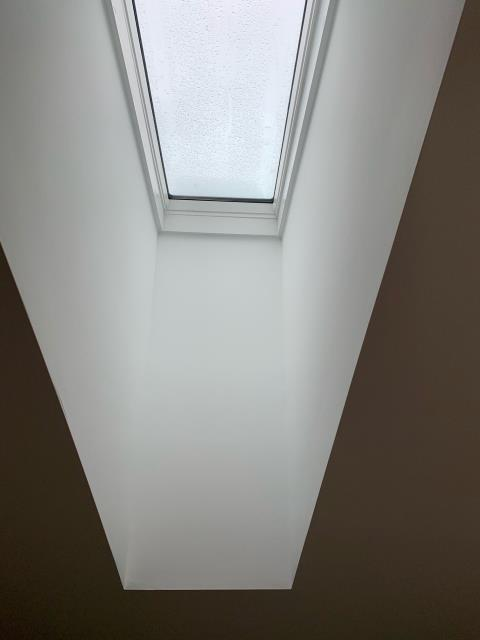 Mount Laurel Township, NJ - Replaced 2 existing skylights and installed a new sliding glass door on back of home.