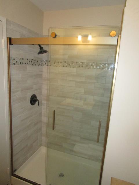Evesham, NJ - Beautiful bathroom remodel with walk in shower