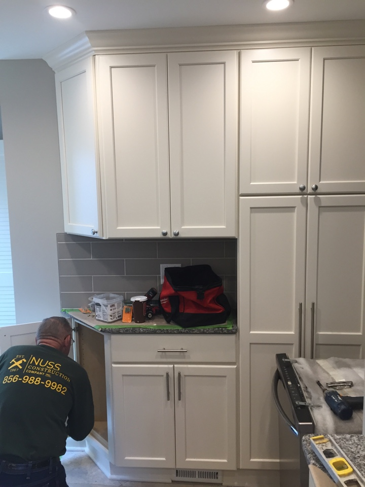 Haddon Heights, NJ - Fresh new look for this great kitchen.