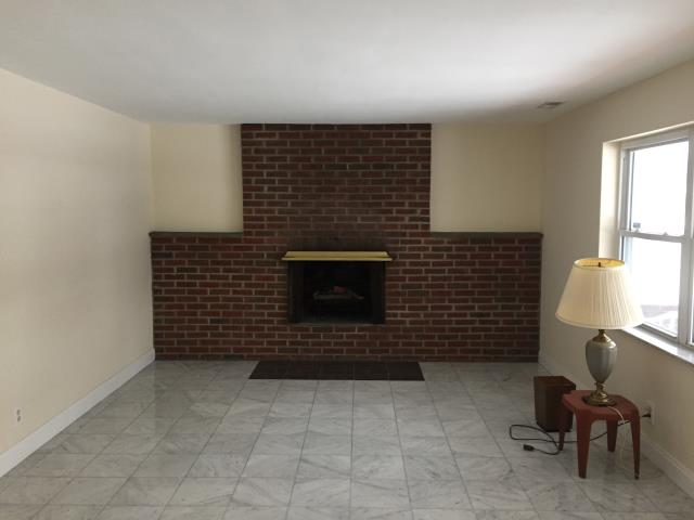 Haddonfield, NJ - Just wait until you see the transformation ! We will clean this brick work, update the fireplace, build custom bookshelves and a mantle, and update the flooring.  Check back for updates !