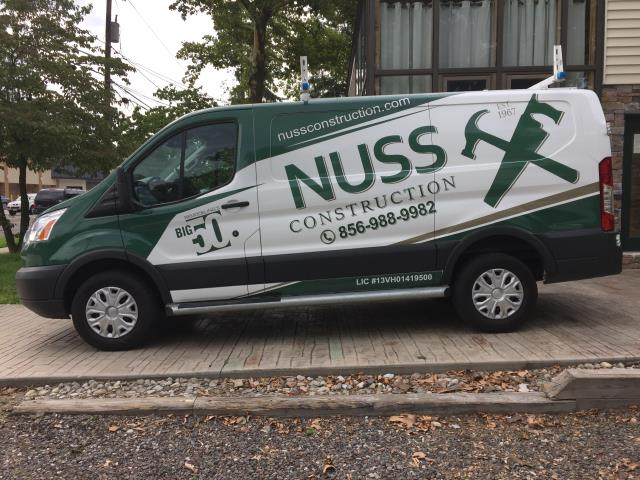 Evesham Township, NJ - The new NUSS van is here and looks awesome ! Coming soon to your neighborhood !