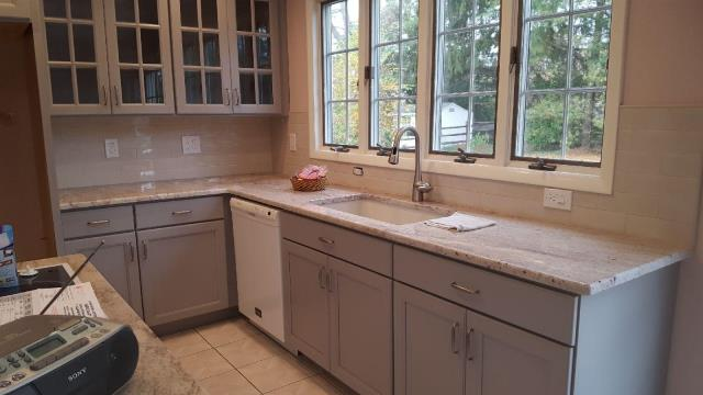 Moorestown, NJ - Our Moorestown kitchen project is coming along beautifully ! check back for more photos !