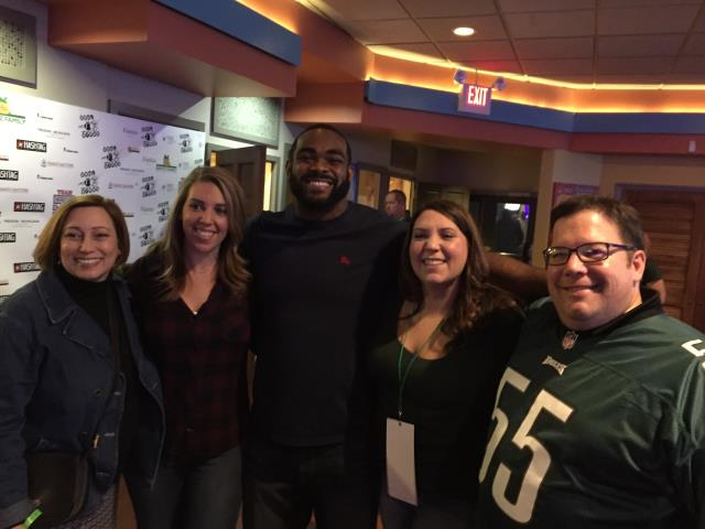 Cherry Hill, NJ - Nuss Construction is proud to once again be the lead sponsor for Bowl with the Birds, and our gracious host #55 Brandon Graham, Defensive End for the Philadelphia Eagles !
