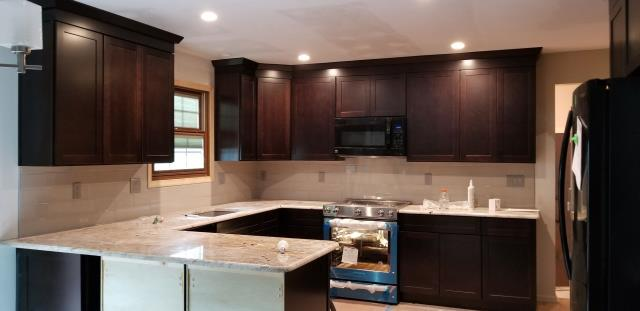Voorhees Township, NJ - Getting really close to completing our Voorhees kitchen remodel !