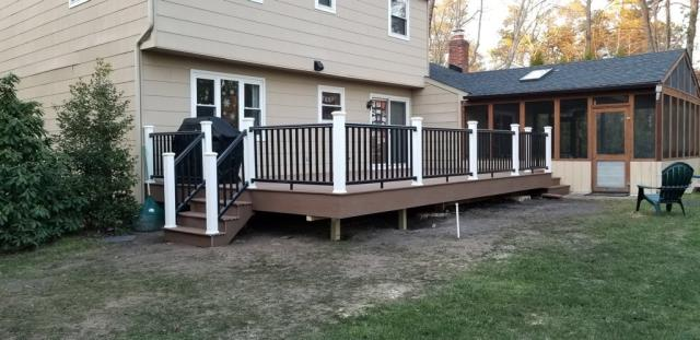 Medford, NJ - Timber Tech decking and rail kits.