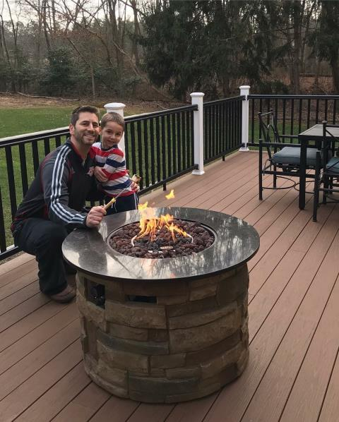 Medford, NJ - We love working hard to build things (like this new deck!) in the homes of our wonderful clients, so they can enjoy time with the ones who mean the most to us!