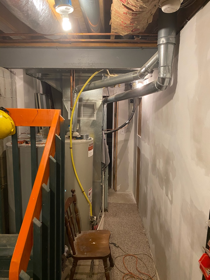 New Albany, OH - Propose cost to install HVAC system. Cost to replace furnace and cost to replace air condition