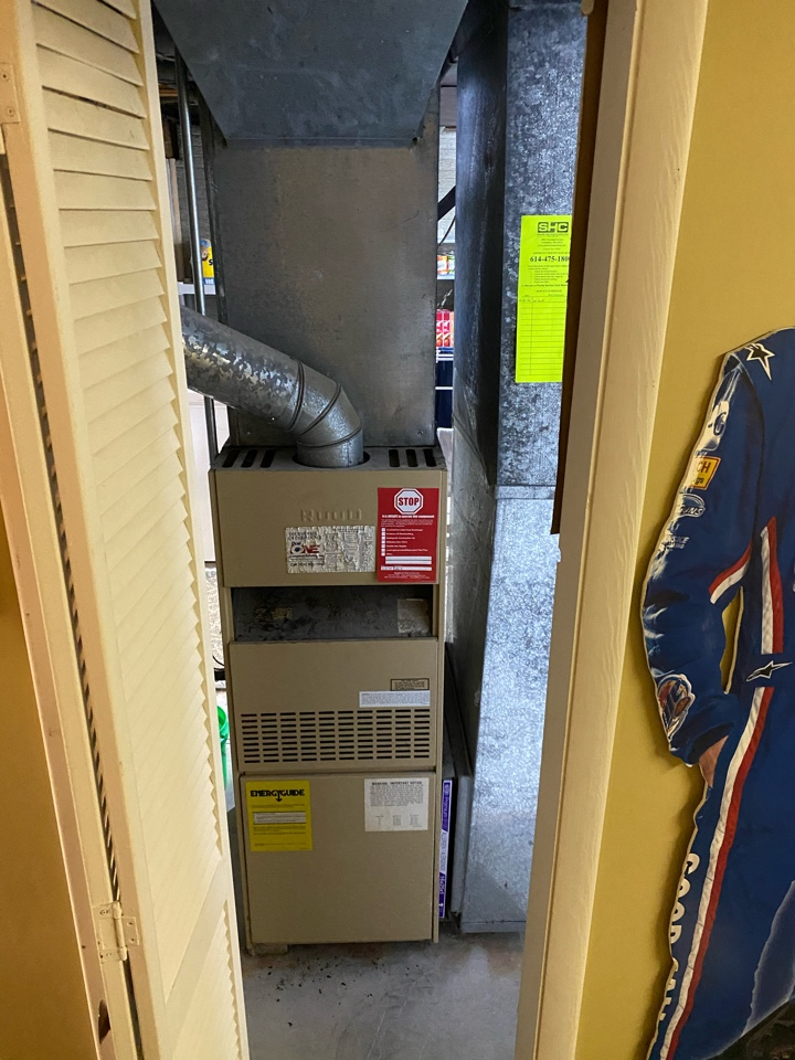 Reynoldsburg, OH - Proposed cost of furnace installation