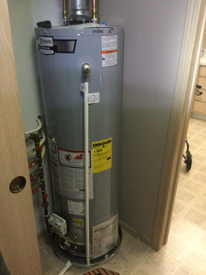 Westerville, OH - Installed AO Smith water heater