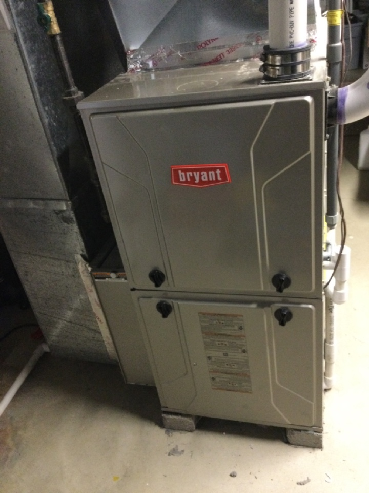 Westerville, OH - Annual maintenance check on a Bryant furnace