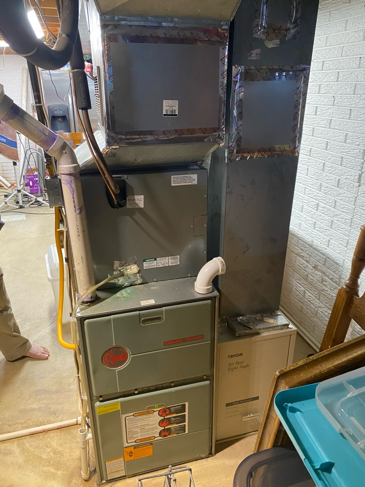 Worthington, OH - Proposed installation of Payne 2 stage variable speed furnace