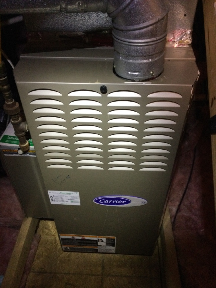 New Albany, OH - Annual maintenance check on a Bryant furnace