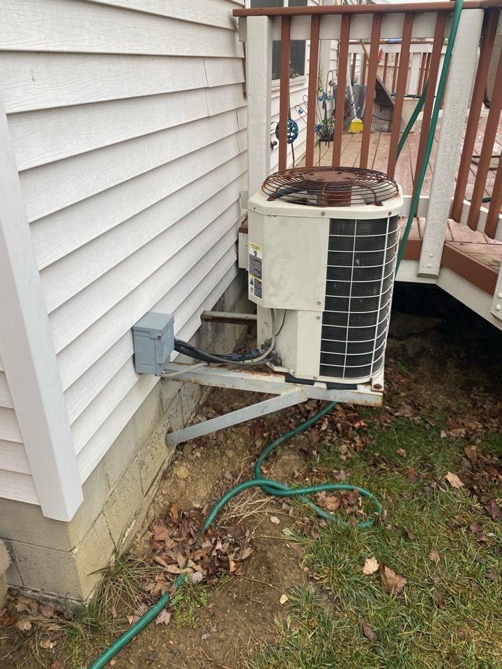 New furnace and air conditioner estimate in Hilliard, Ohio.