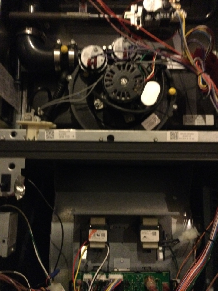 Grove City, OH - Performing maintenance on a 2017 rheem gas furnace.