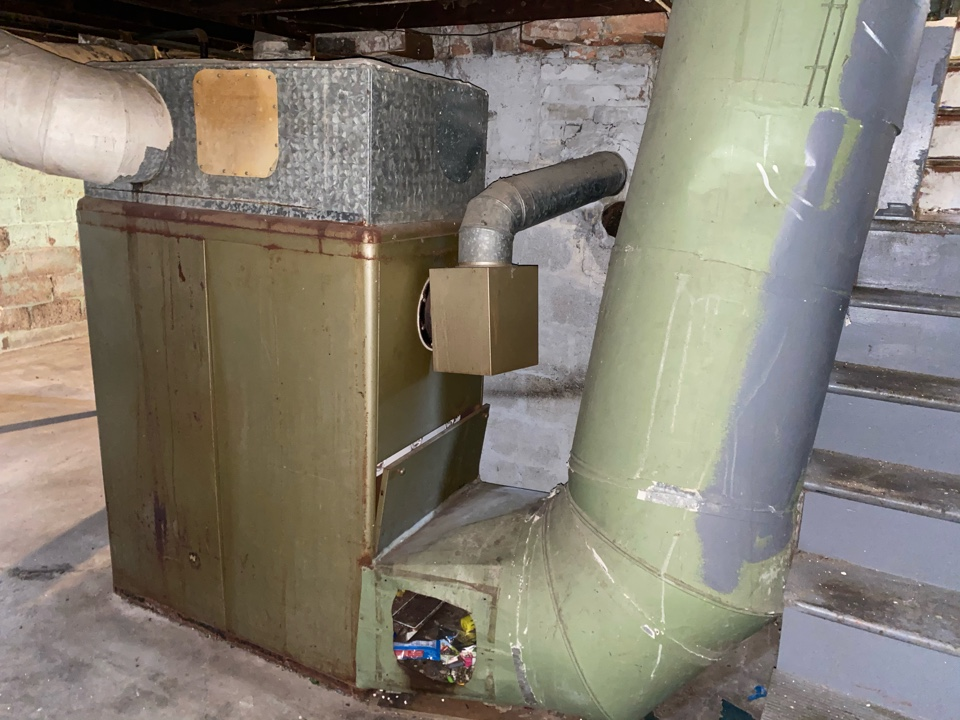 Columbus, OH - Gravity furnace needs replaced they don't make parts anymore for it. Cost of installing furnace