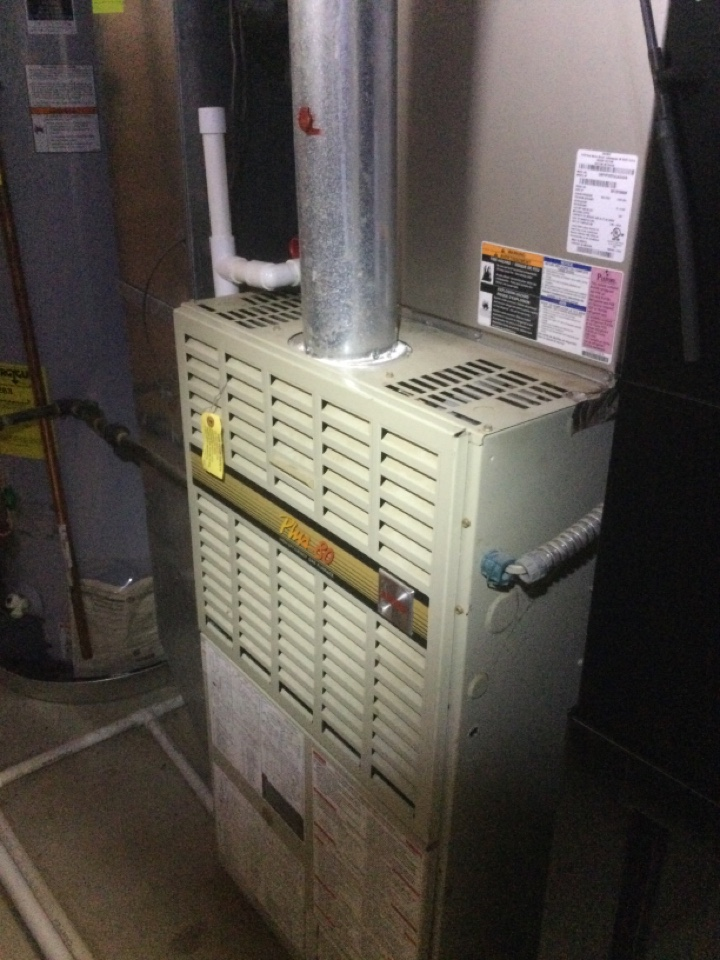 New Albany, OH - Replaced failed ignition system and flame sensor on a Bryant furnace