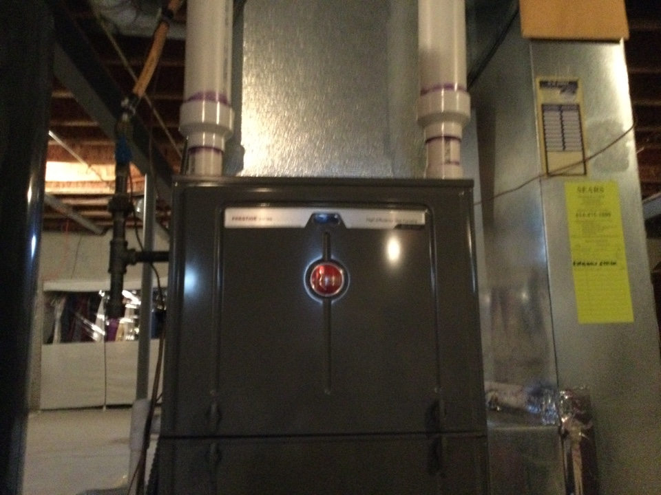 Galena, OH - 2016 rheem gas furnace. Back to replace pressure sensors. Customer has parts warranty only and can receive $65 off of repair. Showed options on page hm11. Chose hm11a. Completed repairs and cycled unit several times without issue. All okay at this time.