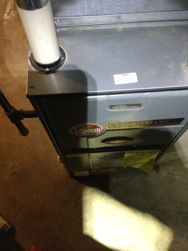 Delaware, OH - Furnace repair on no heat removed stink bugs and cycled operations.