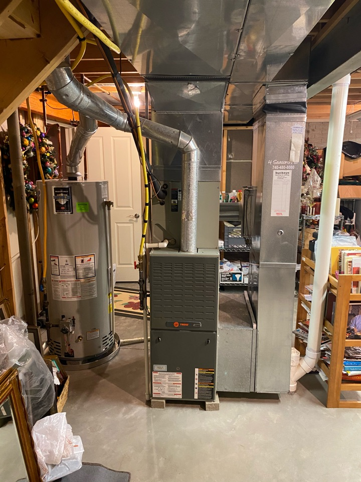 Gahanna, OH - Equipment is getting to the end of its useful life so customer wanted cost of installing new furnace and air condition