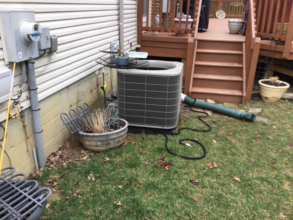 Hilliard, OH - 2010 Bryant air conditioner. Completed mechanical, safety, and performance test on air conditioner. Found concern with voltage distribution center. Contacts are badly pitted causing arc flashing. Compressor is pulling high amps on start up. Recommended replacing voltage distribution center and adding a performance enhancement kit to assist compressor on start up, reduce energy consumption, and increase compressor life. Showed options on page Hd3. Customer would like to for now. She says she a home warranty. Let her know parts have to be completely failed for ho,e warranty to cover anything. At that time she can have us out to speak with home warranty company and proved an estimate for repairs. All okay at this time