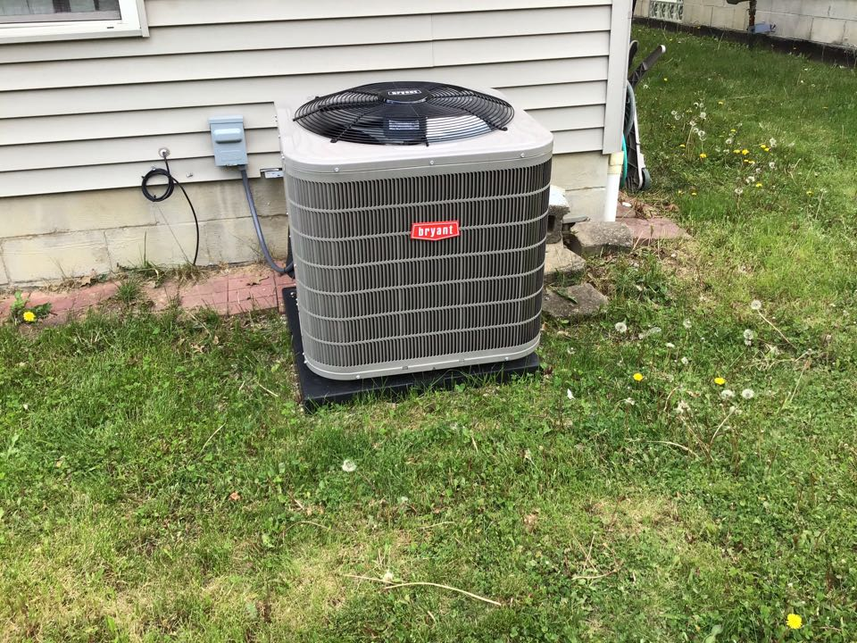 Dublin, OH - Ac check on 2019 ac carrier r410. System is clean and checked out fine