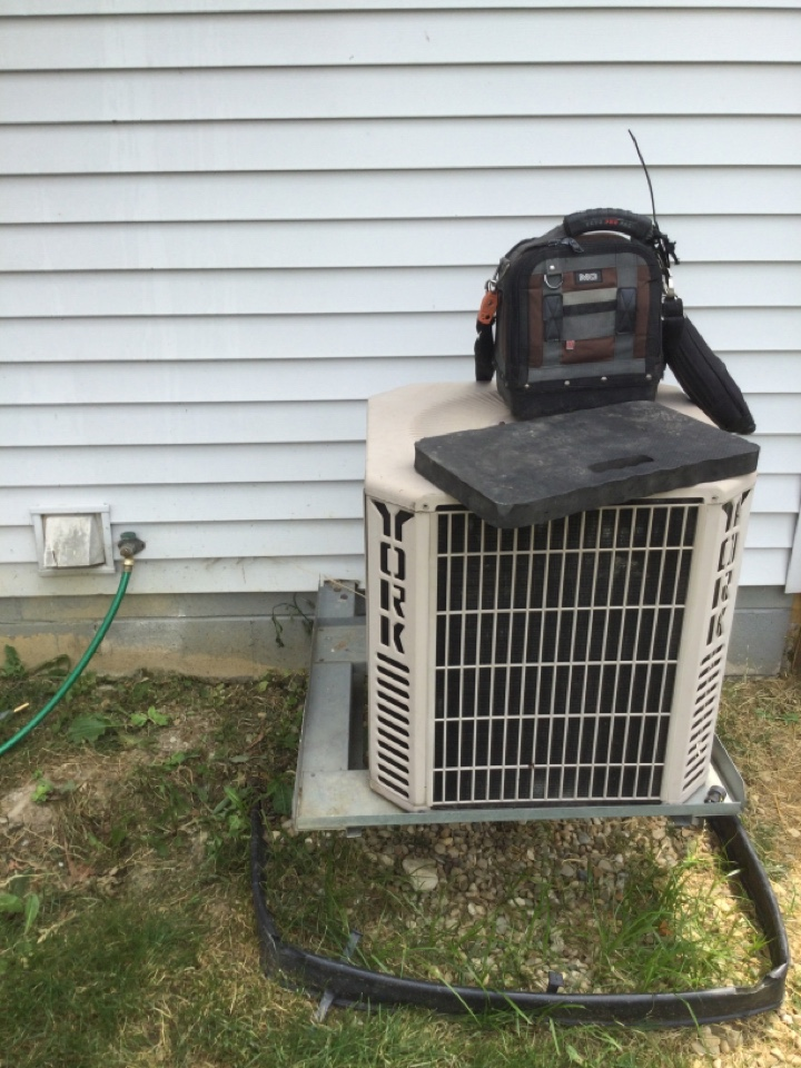 Sold new air conditioning as old unit is not worth repair.
