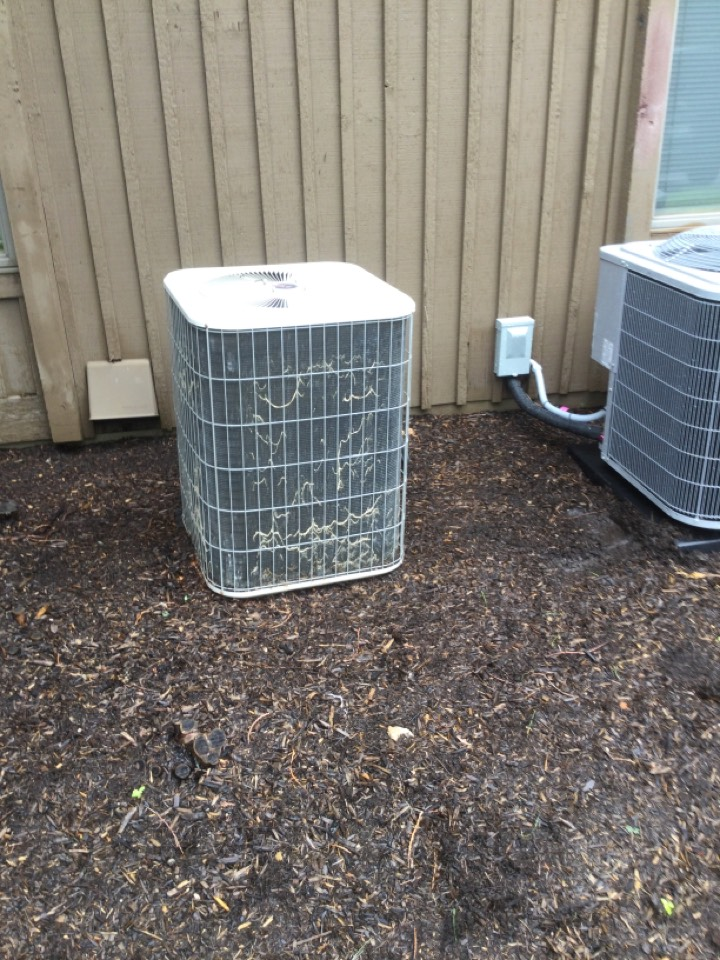Replaced failed capacitor and and restored unit to service. Checked refrigerant levels and found no more issues.