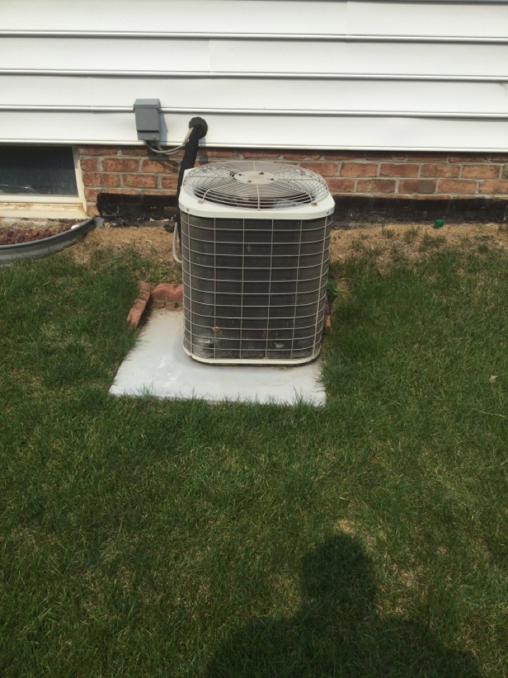 Ac maintenance inspection including cleaning condenser coil, checking electrical connections and cycling equipment to ensure proper operation.