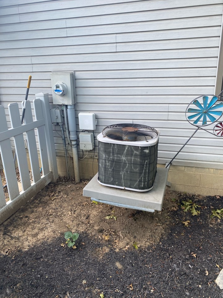 Proposed cost to replace air condition and furnace. Going to move the air conditioner off the house stand and install it on the ground