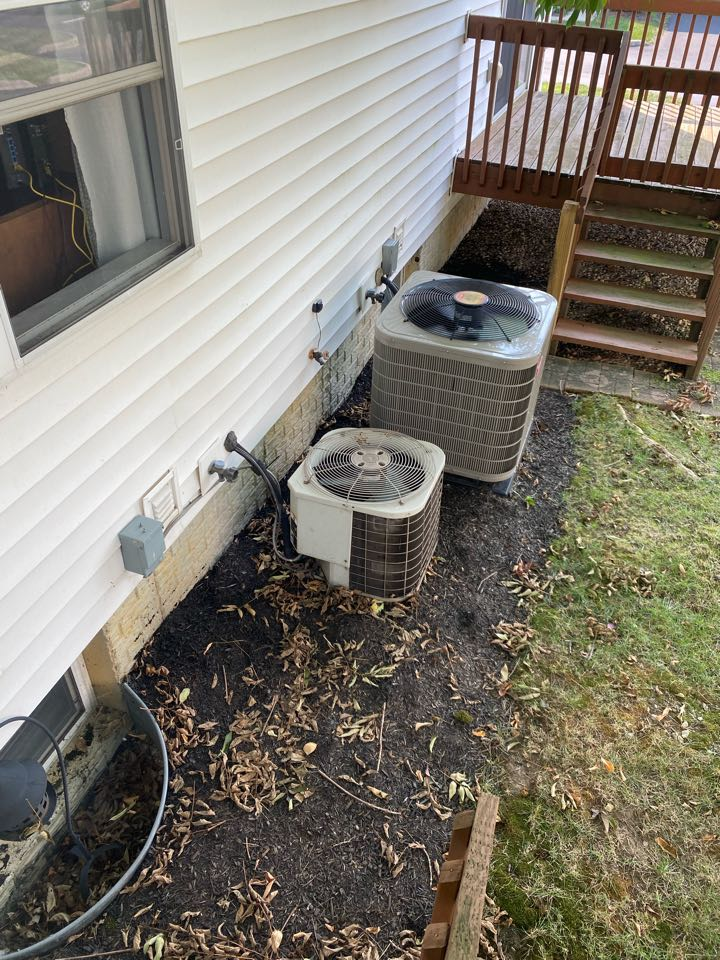 There is a refrigerant leak in the condenser coil of the air condition. Proposed cost to replace air condition. Proposed cost to replace HVAC. Proposed cost to replace furnace