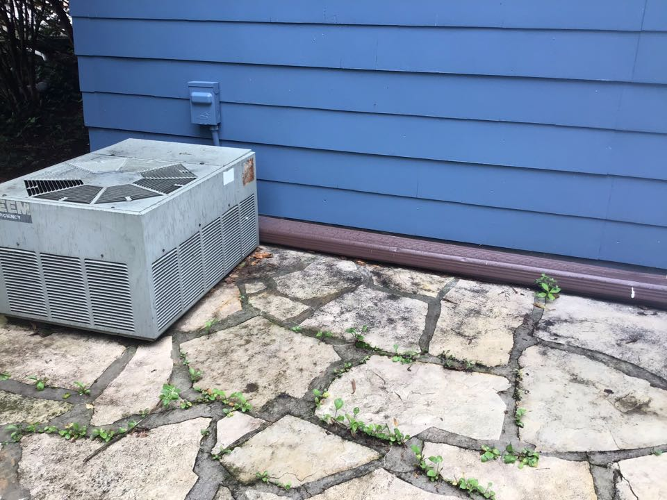 Dublin, OH - 2003 90% rheem furnace single stage 201 filter no humidification system flushed and added tabs in pvc