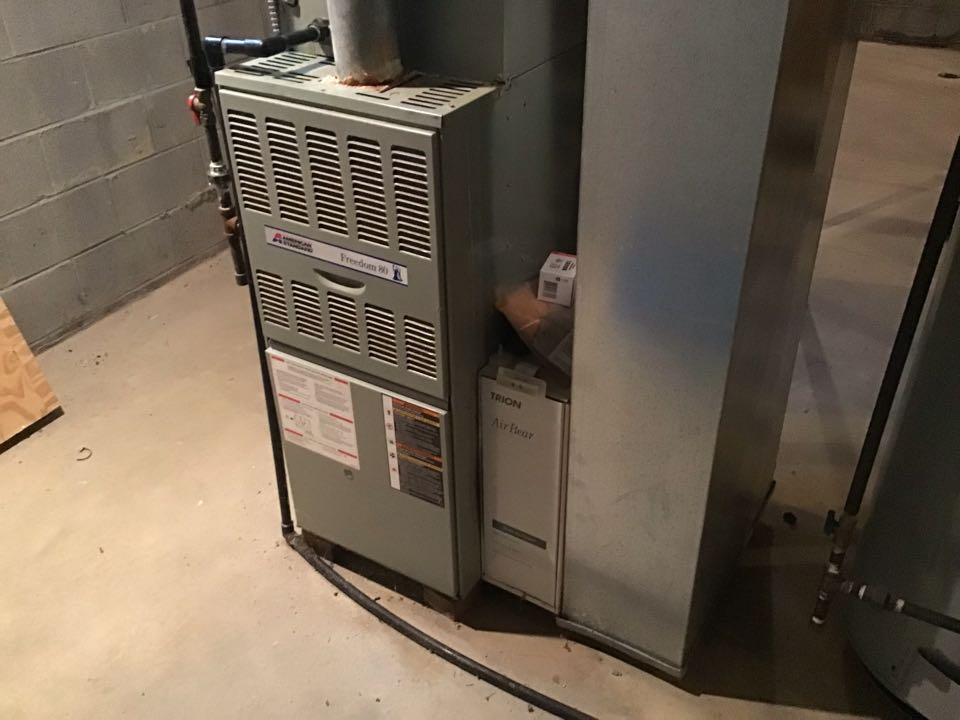 Westerville, OH - Fur ace check on 2015 furnace 2 stage 80%