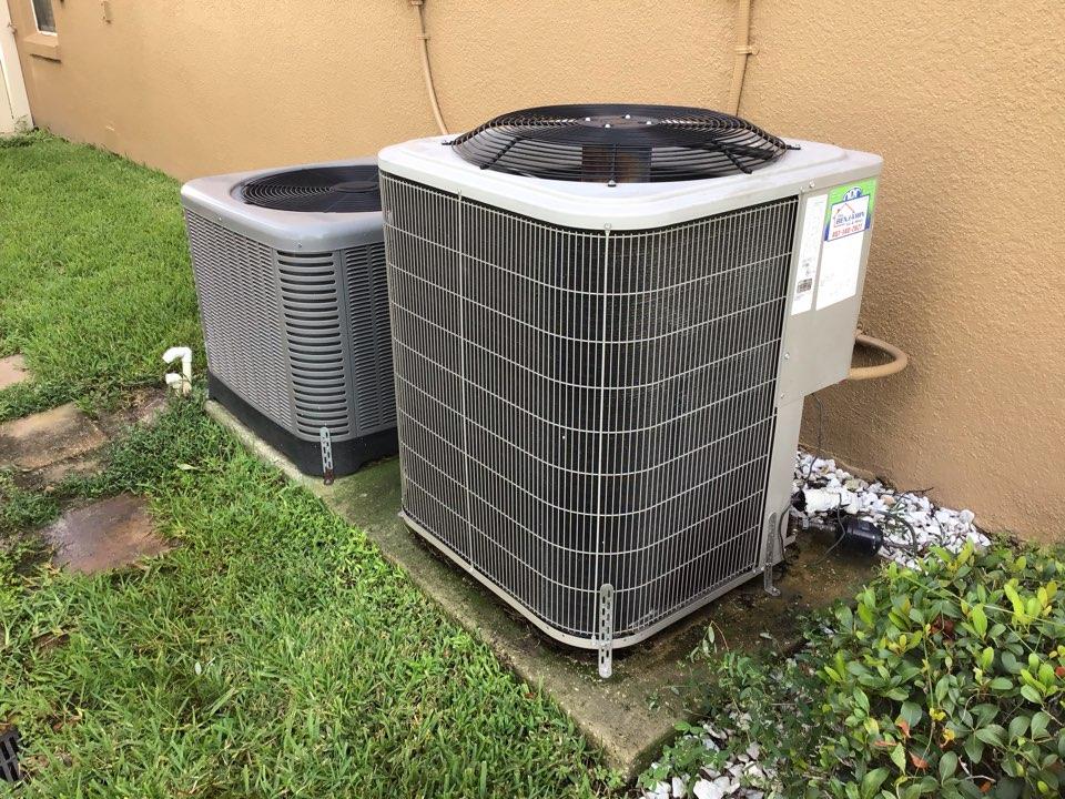 Winter Springs, FL - Ac repair drain problem