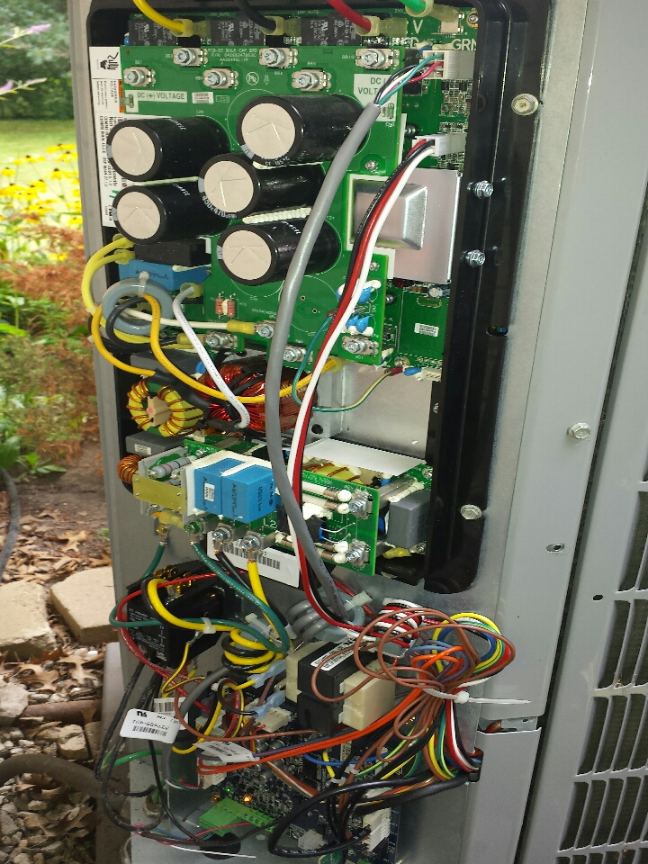Kenosha, WI - replace OST sensor carrier 25VNA heat pump