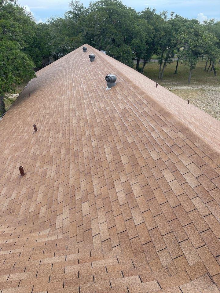 Seguin, TX - Hail inspection metal roof repair