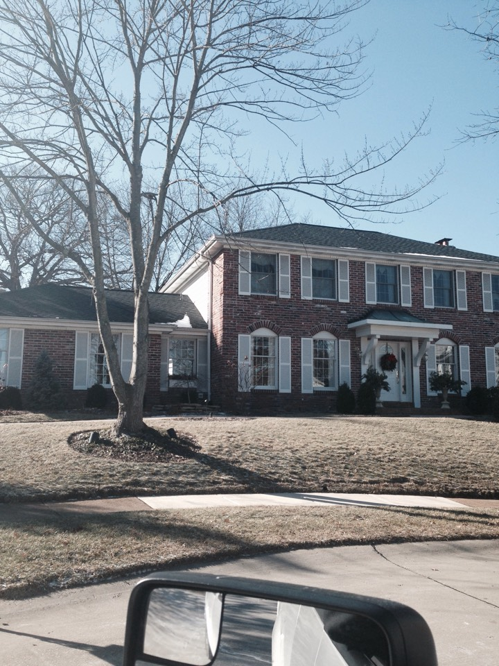 Chesterfield, MO - The GAF Timberline Ultra HD shingle roof